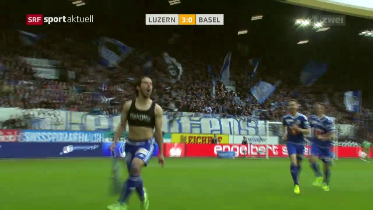 Klatsche für den FCB in Luzern