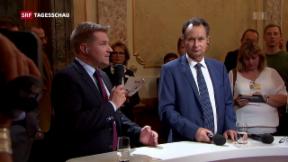 Video «SP in Umfragen nur noch knapp vor FDP » abspielen