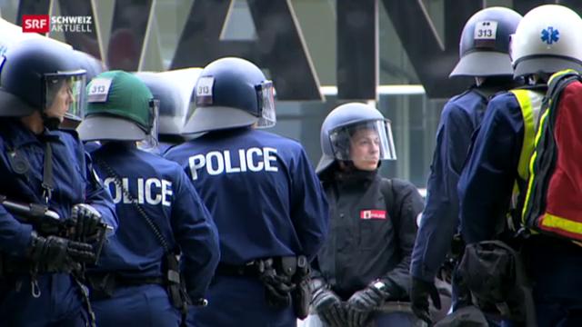 Bernische Polizei schliesst Wachen für zwei Tage