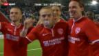 Video «Fussball: Thun - Partizan Belgrad» abspielen