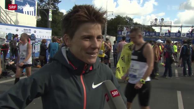 Video «Leichtathletik: Berlin Marathon» abspielen