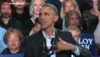 Video «Barack Obama im Umfrage-Tief» abspielen