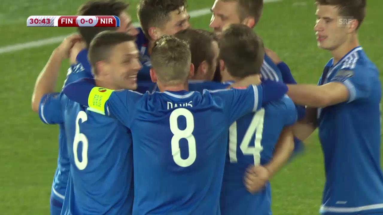 Fussball: Finnland-Nordirland