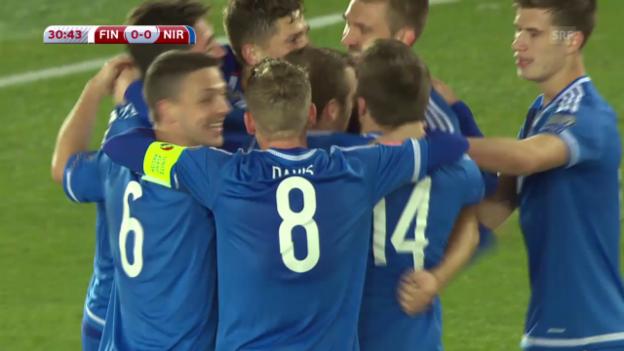 Video «Fussball: Finnland-Nordirland» abspielen