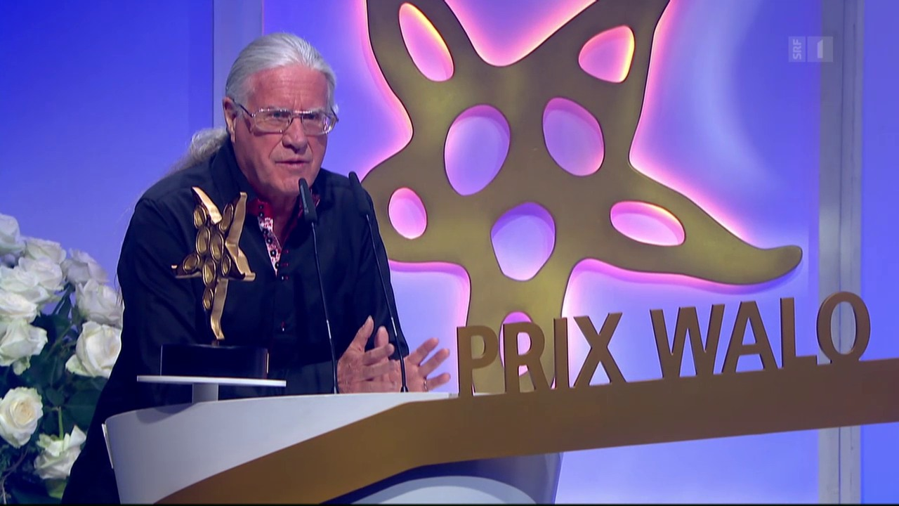 «Ehren-Prix Walo» für Toni Vescoli