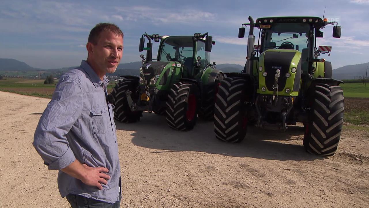 Zu Besuch bei Stephan Schmidlin, Traktoren-Kenner