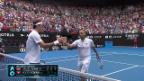Video Federer besteht Härtetest gegen Evans abspielen.