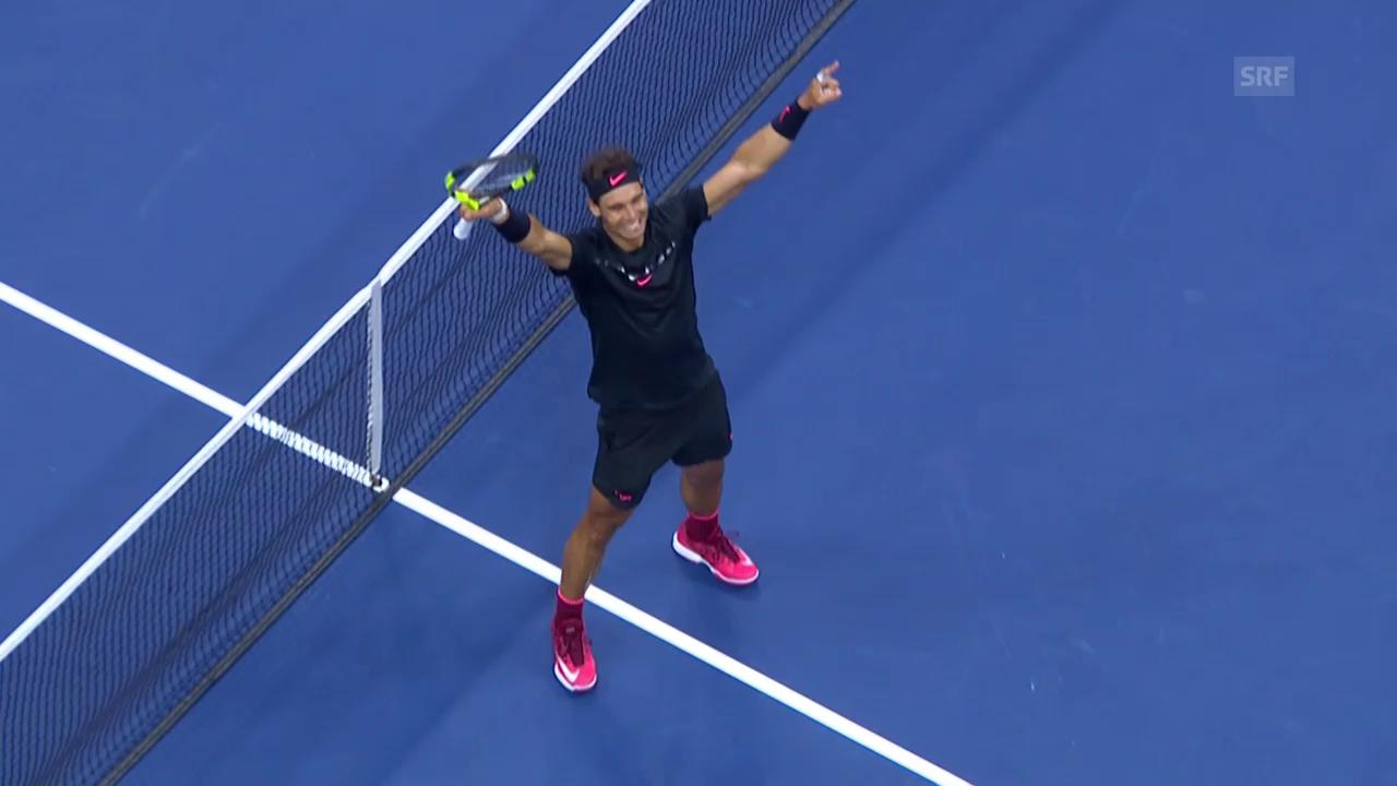 Nadal - Anderson: Die Live-Highlights