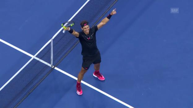 Video «Nadal - Anderson: Die Live-Highlights» abspielen