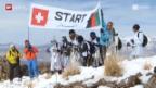 Video «Afghanistan – Skirennen im kriegsversehrten Land» abspielen