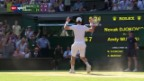 Video «Tennis: Wimbledon-Final Murray - Djokovic («sportpanorama»)» abspielen