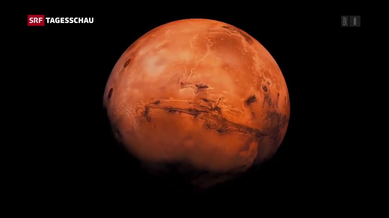 ETH auf dem Weg zum Mars
