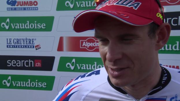 Video «Rad: Tour de Suisse, Interview mit Alexander Kristoff» abspielen