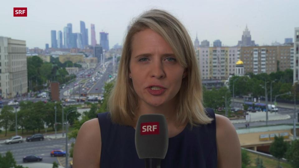 SRF-Korrespondentin Luzia Tschirky zum Fall Timanowskaja