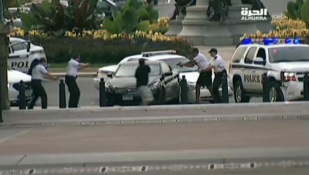 Video «Tödliche Verfolgungsjagd in Washington (unkommentiert)» abspielen