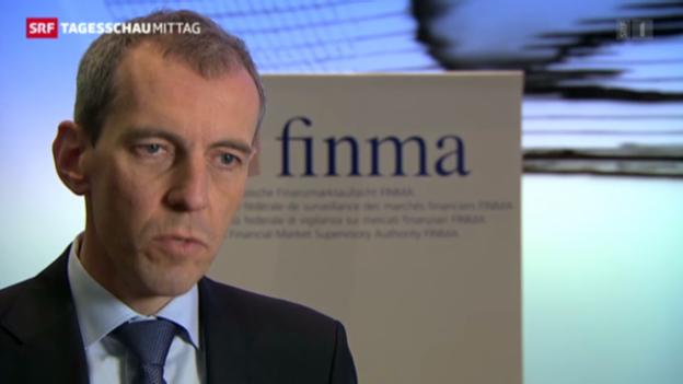 Video «Zypern auch Thema bei Finma» abspielen