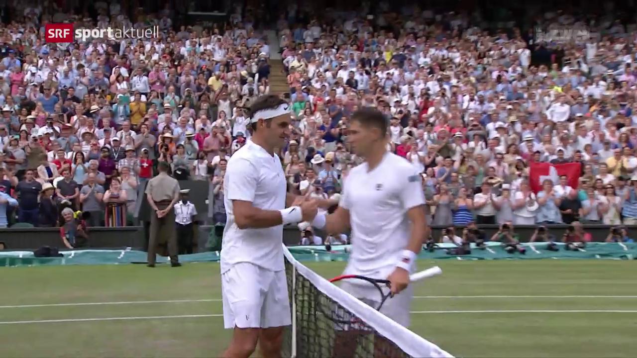 Federer lässt auch Lajovic keine Chance