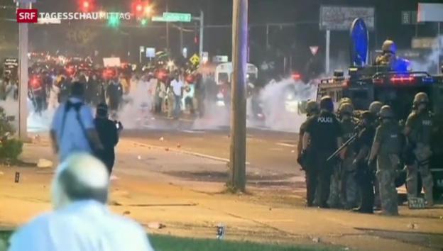 Video «Soldaten gegen Demonstranten» abspielen