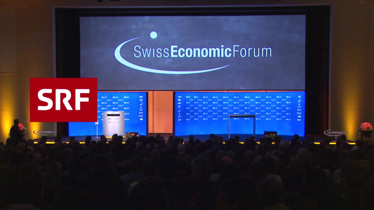SRF am Swiss Economic Forum