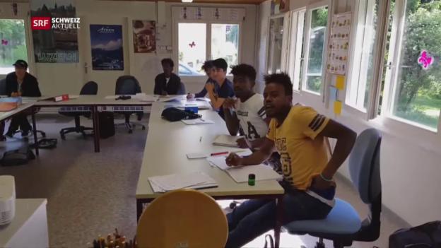 Video «Deutschkurs in Freiburg» abspielen