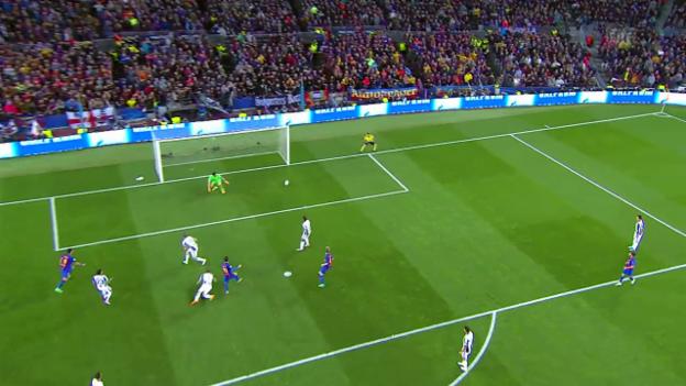 Video «Zusammenfassung Barcelona - Juventus» abspielen