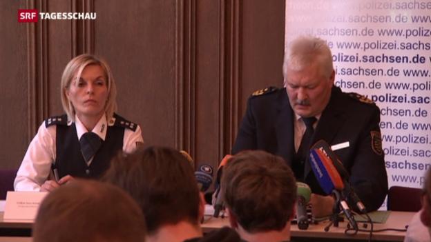 Video «Stellungnahme der Polizei zum Fall Clausnitz» abspielen