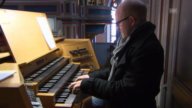 Video «Dieter Falk verrockt Bach» abspielen