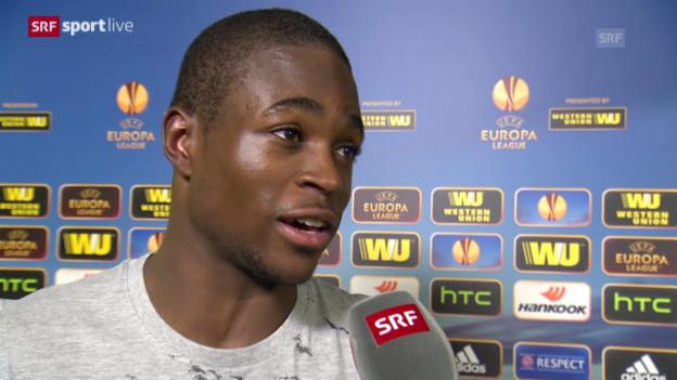 Video «Fussball: Interview mit Yvon Mvogo» abspielen