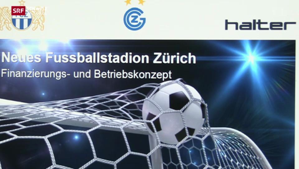 Neues Fussballstadion für Zürich