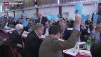 Video «Frankenstärke dominiert FDP-Delegiertenversammlung» abspielen