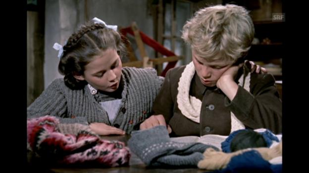 Video «Lesen lernen mit Heidi (1955)» abspielen