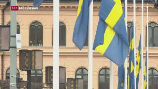 Video «Terroranschlag von Stockholm: Der Tag danach» abspielen