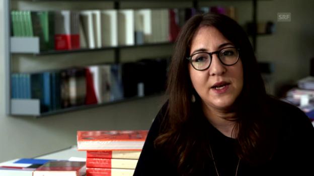 Video «Deborah Feldman über ihre Grossmutter» abspielen
