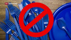 Video «Verbot von Plastikgabeln und Co.» abspielen