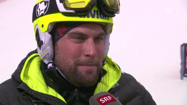 Video «Freestyle-WM Kreischberg: Parallel-Slalom Männer, Interview mit Kaspar Flütsch» abspielen