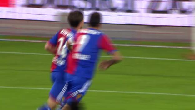 Video «Fussball: Spielbericht Basel-Sion» abspielen