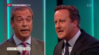 Video «Erste Brexit TV-Debatte » abspielen
