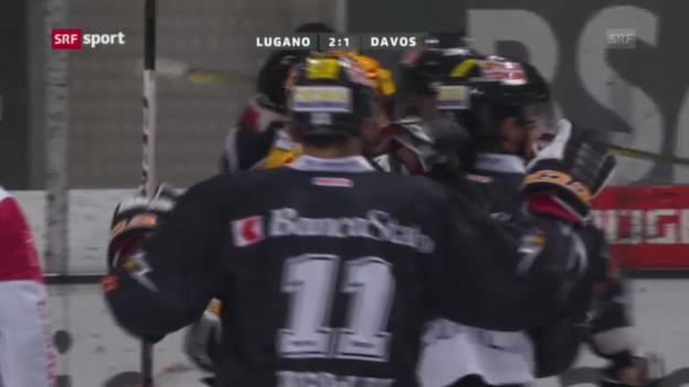 Video «Eishockey: Lugano - Davos» abspielen