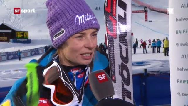 Ski: Frauen-Riesenslalom in St. Moritz («sportpanorama»)