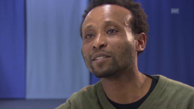 Video «Wa Baile: Aus dem Pendler-Strom herausgepickt» abspielen