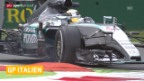 Video «Formel 1: GP Italien, freie Trainings» abspielen
