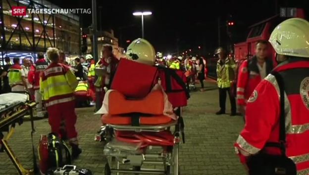 Video «Zugunglück in Mannheim» abspielen