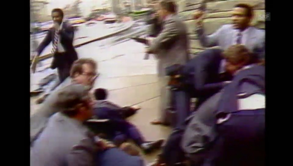 Beim Attentat auf Reagan haben die Bodyguards mangelhaft gearbeitet