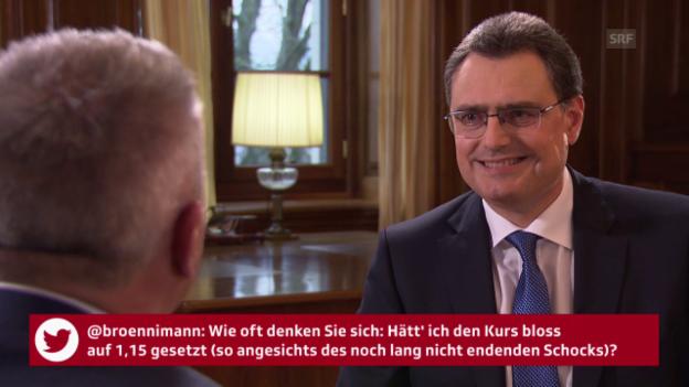Video «User-Fragen an SNB-Präsident Thomas Jordan» abspielen