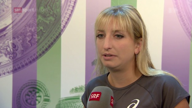 Video «Bacsinszky scheitert in Wimbledon» abspielen