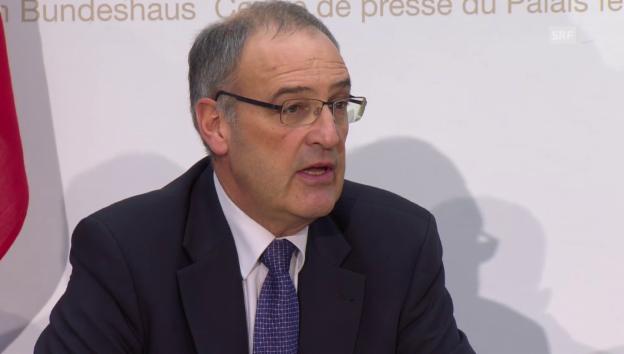 Video «Parmelin: «Ob die Armeereform gelingt, ist eine andere Sache»» abspielen