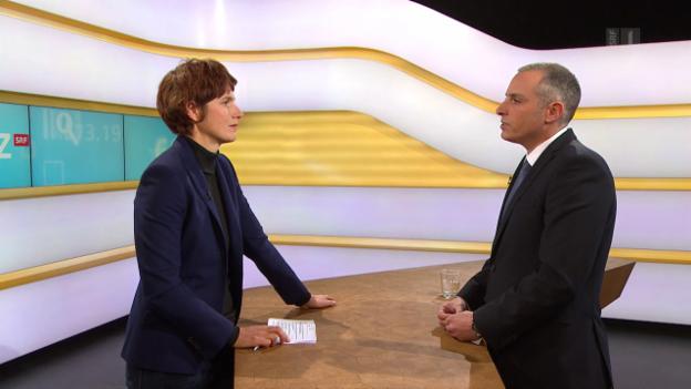 Video «Studiogespräch mit Daniel Nussbaumer von der Kantonspolizei Zürich» abspielen