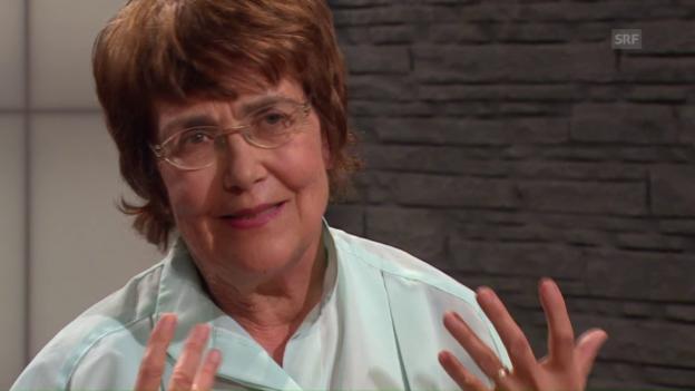 Video «Psychotherapeutin Annie Berner-Hürbin über eine Engelserfahrung» abspielen
