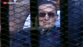 Video «Ägyptischer Ex-Präsident freigesprochen» abspielen