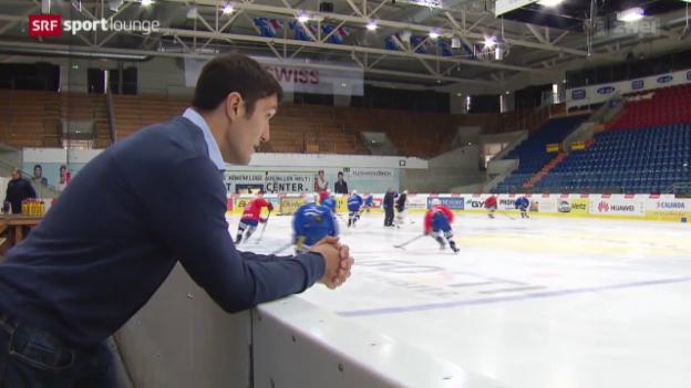 Video «Eishockey – Victor Stancescus abruptes Karriereende» abspielen